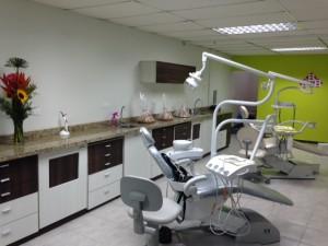 Instaciones del Centro Odontologico Santa Barbara en Tocuyito